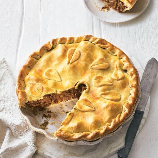 Amerikanische Küche: Rezepte für Pies: Alles gut unter der Haube ...