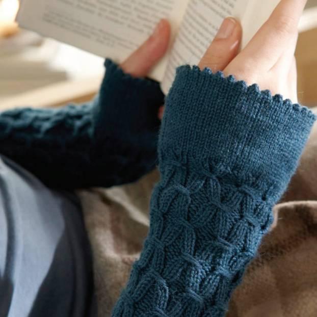 Pulswärmer stricken - für warme Handgelenke | BRIGITTE.de