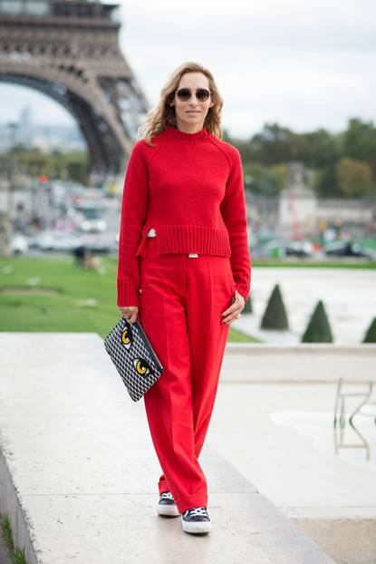Herbst-Outfit in Farbe