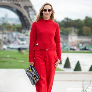 Herbst-Outfits als Streetstyle