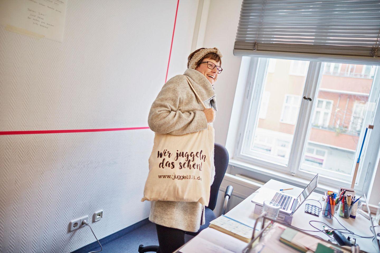"""Gründerin Katja Thiede: """"Ich mag den Gedanken, dass es immer irgendwie weitergeht."""""""