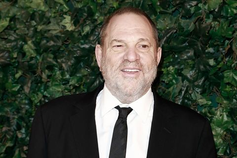 Harvey Weinstein im Anzug.