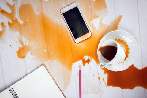 Haftpflichtversicherung: Verschütteter Kaffee