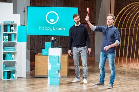 happybrush aus 'Die Höhle der Löwen': Wir haben die Zahnbürste getestet!