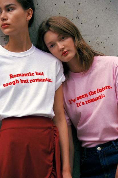 Statement-Shirt von mint&berry als Kampagnenbild