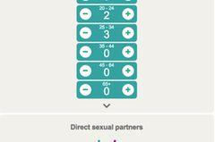 Indirekte Sexpartner: Grafik