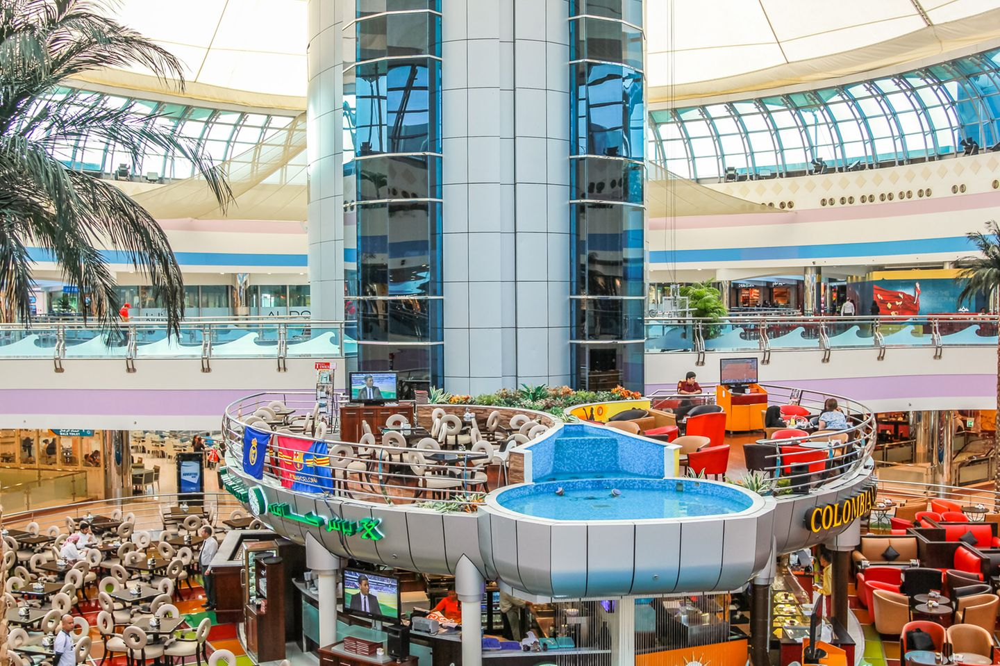 Abu Dhabi Shopping - Marina Mall
