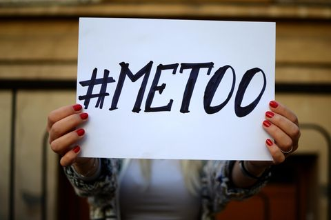 Sexuelle Belästigung: Metoo-Schild