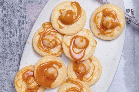 Macadamia-Salz-Karamell-Plätzchen