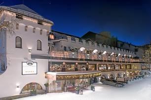 Hotel Klosterbräu: Winteraufnahme