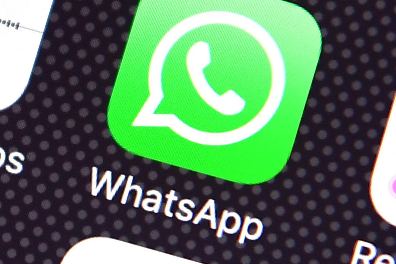 Löschfunktion bei Whatsapp: Die App auf einem Smartphone-Display.