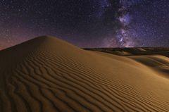 Sternenhimmel über der Wüste