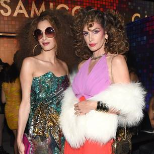 Halloween bei Amal Clooney und Cindy Crawford