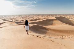 Wüstenwanderung