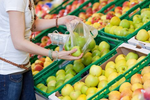 Für den Umweltschutz: Rewe schafft die Obst-Plastiktüte ab