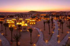 Wüste Abu Dhabi Arabian Nights Village