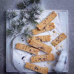 Lavendel-Shortbread