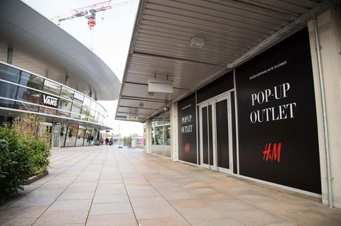 Das H&M Outlet in Wolfsburg