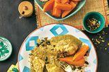 Hähnchen mit Kürbiskern-Paprika-Mole