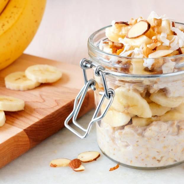Joghurt-Bananen-Porridge