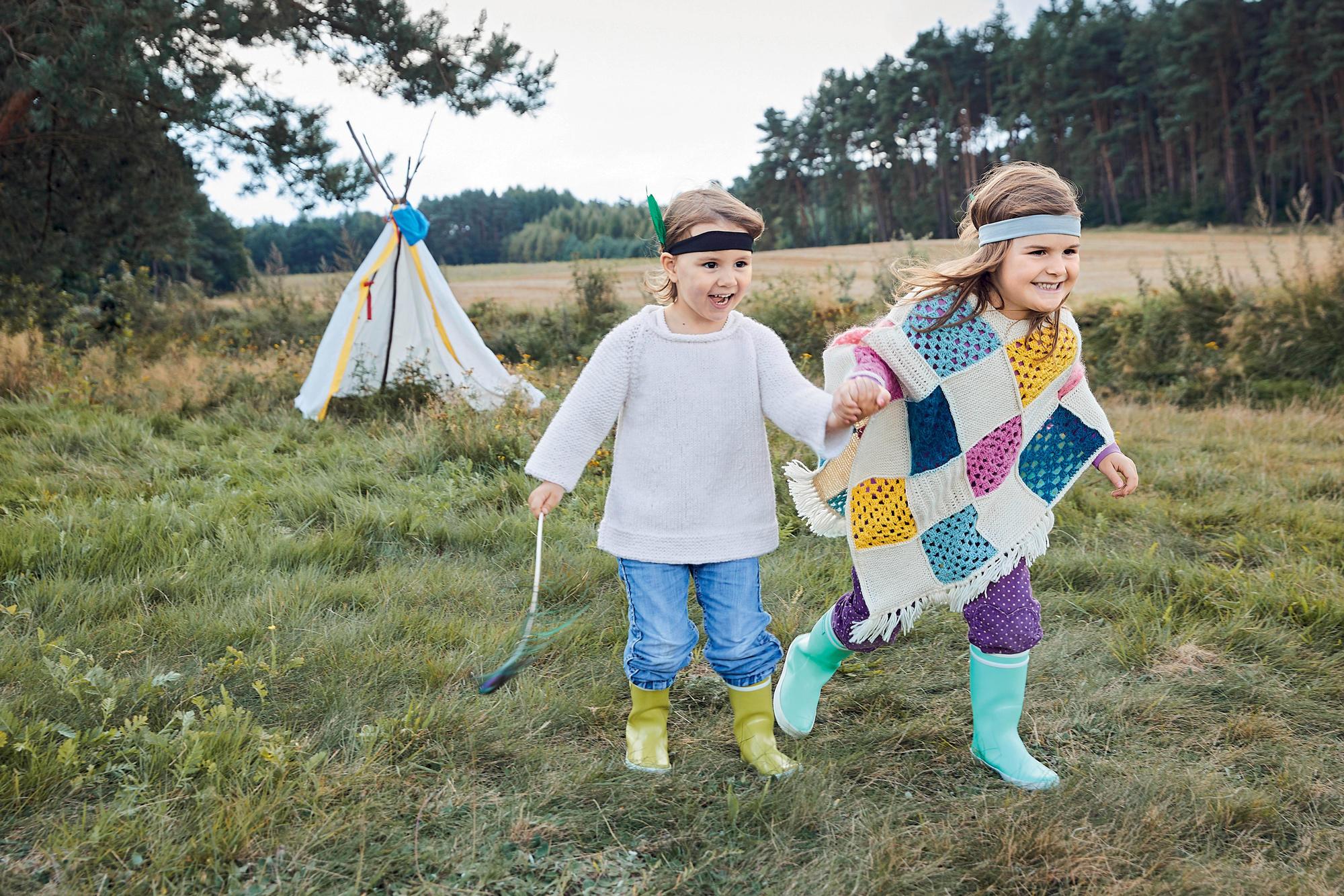 Anleitung Poncho Für Kinder Häkeln Brigittede