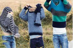 Jungen Pullover stricken