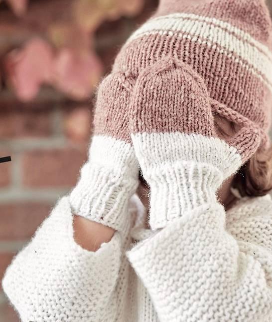 Strickanleitung Mütze Und Handschuhe Für Kinder Brigittede