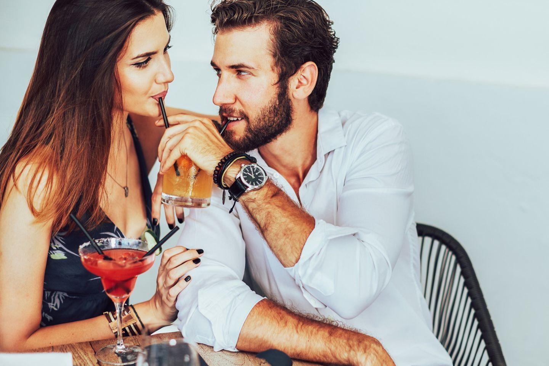 Pigging: Mann und Frau haben ein Date