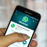 Die Whatsapp-Applikation auf einem Samsung-Smartphone