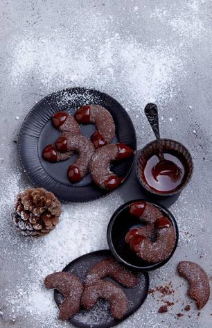 Schokoladen-Kipferl