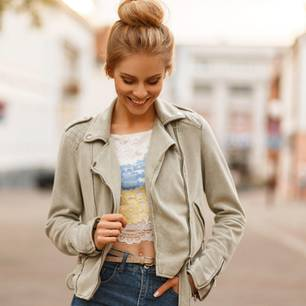Jacke an Bloggerin Hoard of Trends