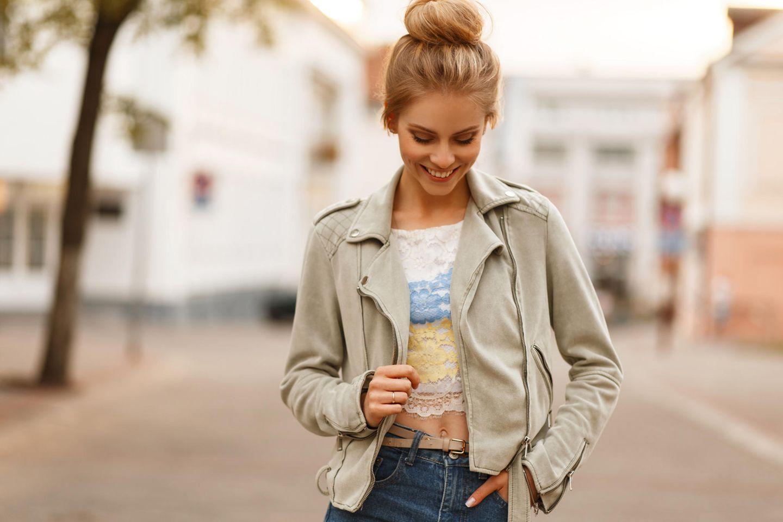 So findest du die perfekte Jacke für deine Figur