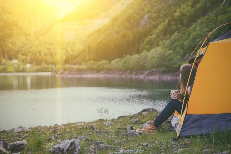Reisen vor 30 - Camping