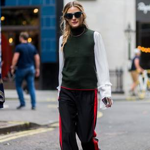 Pullunder an Olivia Palermo