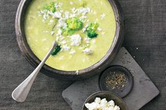 Brokkoli-Feta-Suppe