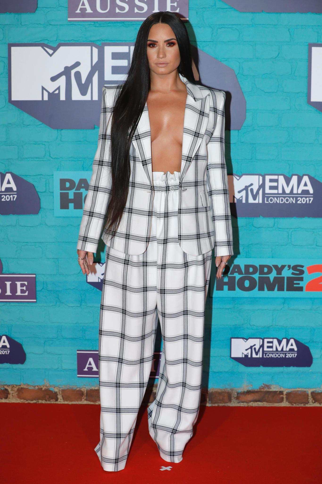 Demi Lovato bei den EMAs 2017