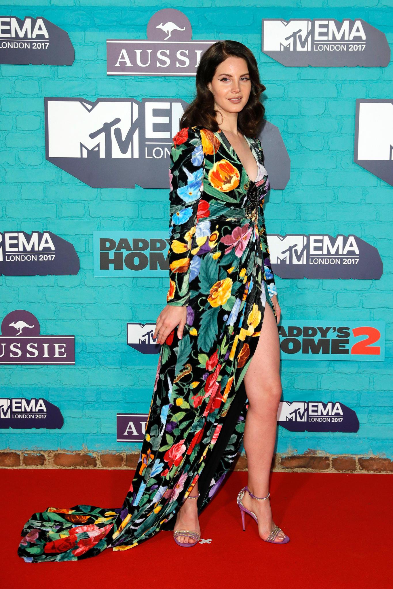 Lana del Rey bei dem EMAs 2017
