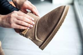 Ugg Botts können dem Fuß schaden