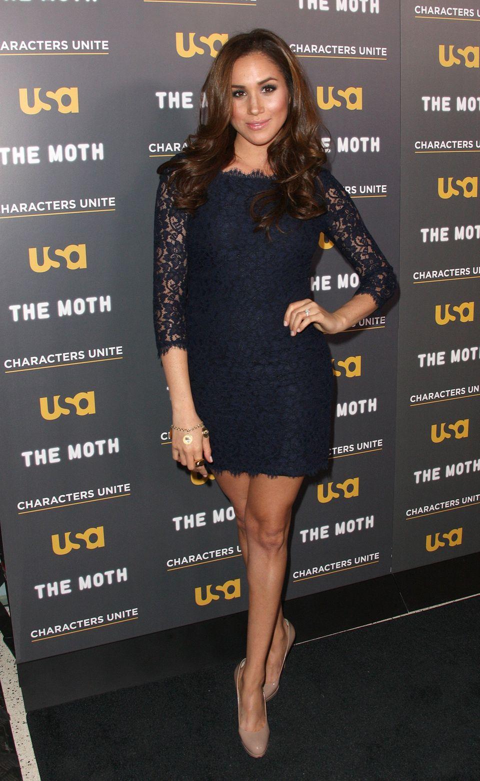 Meghan Markle im Kleid von Kate Middleton