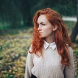 Innere Eltern: Rothaarige Frau