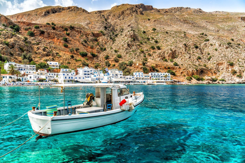 Im April nach Kreta