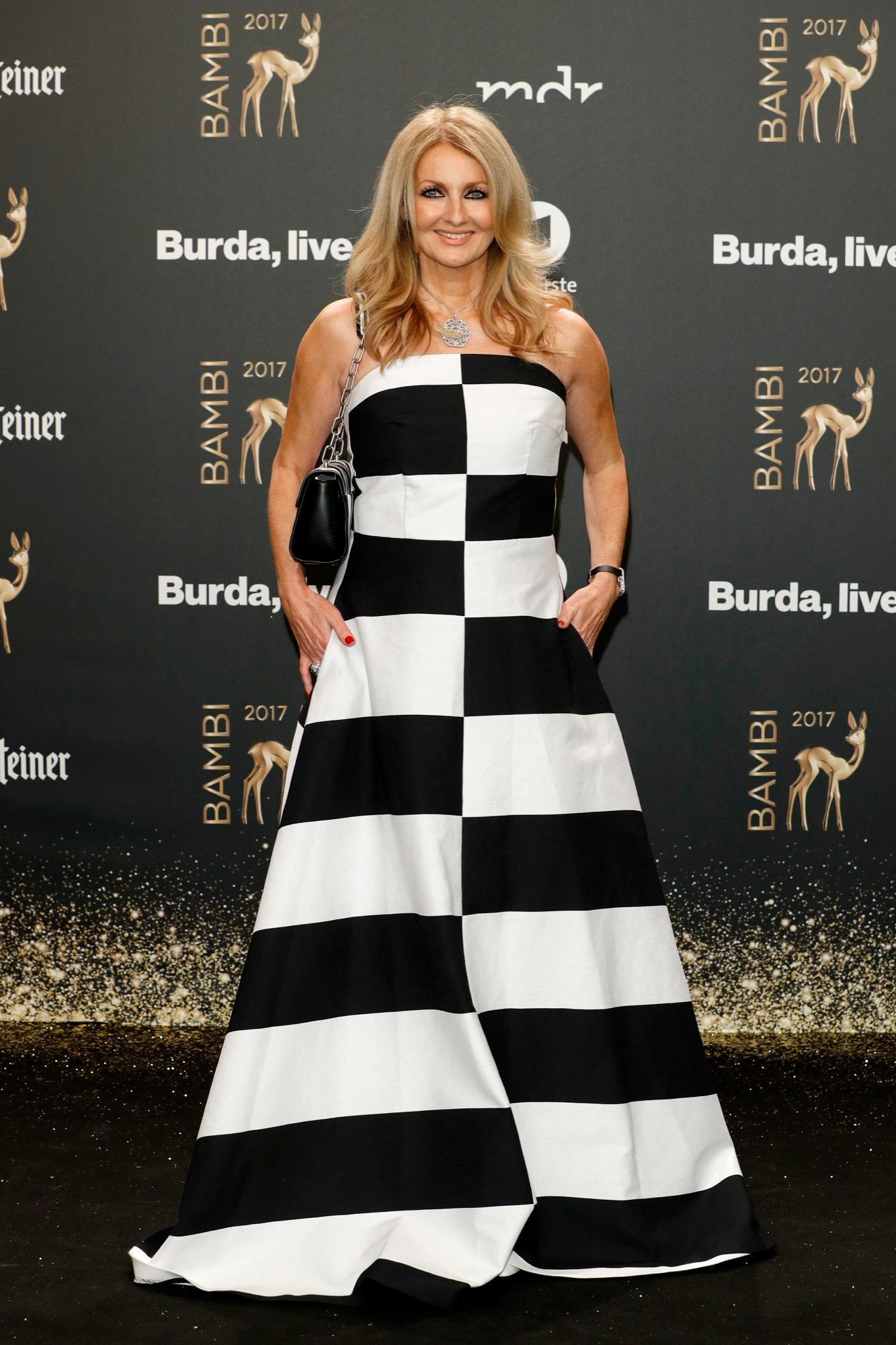Bambi: 2017: Frauke Ludowig auf dem Roten Teppich
