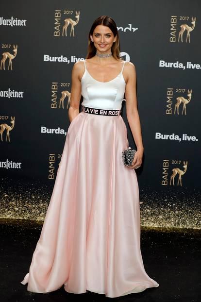 Bambi 2017: Eva Padberg auf dem Roten Teppich