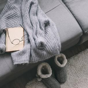 Hausschuhe für den Winter