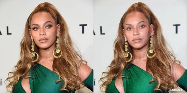 Beyoncé ungeschminkt