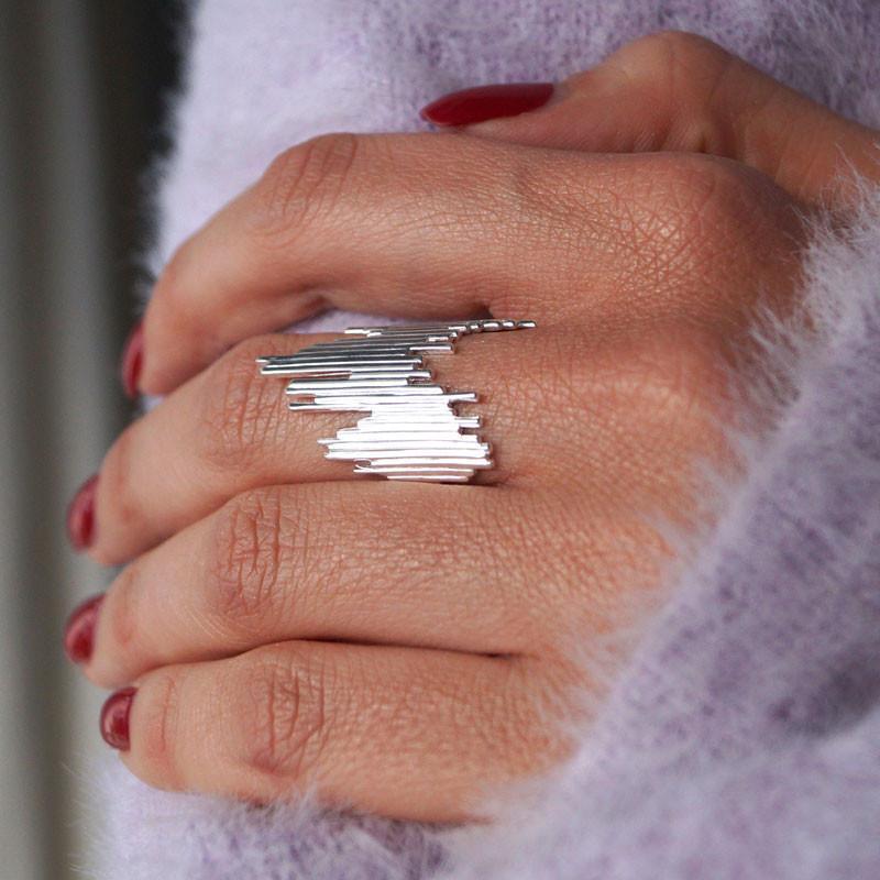 Weihnachtsgeschenk mit Ring von Majune zum Nachshoppen