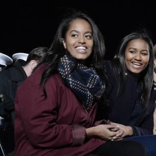 Malia Obama (links) und ihre Schwester Sasha Obama.