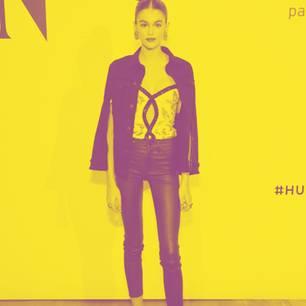 Ganz schön dünn: Kaia Gerber zeigt sich in Berlin
