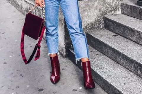 Ankle Boots an Bloggerin