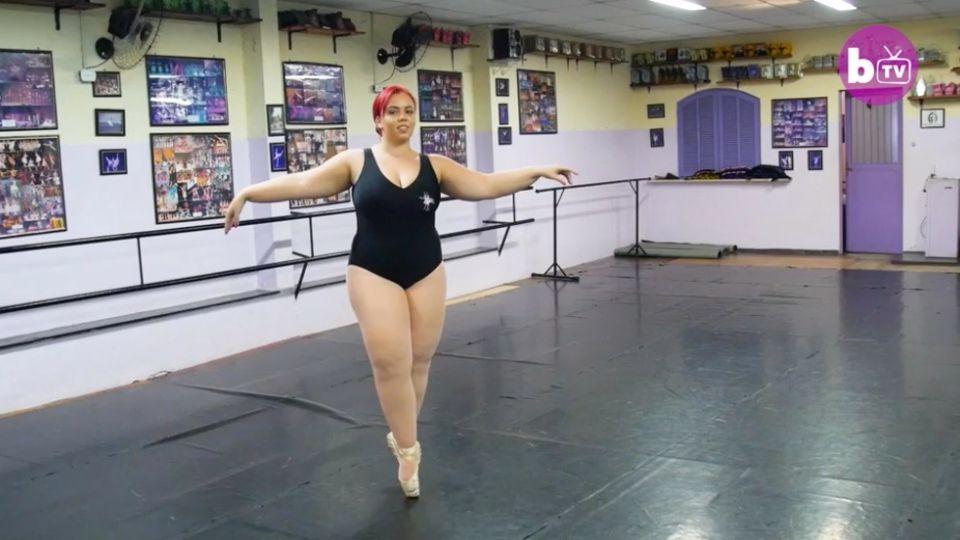 Plus-Size-Ballerina: Thaina Silva